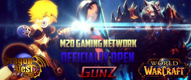 Welcome M2O Gaming Network